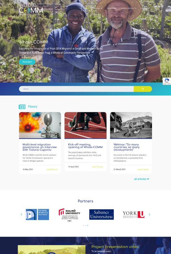wholecomm-web-design
